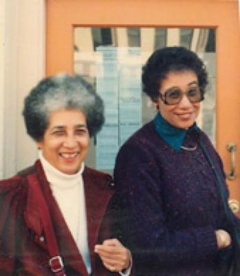 Antonia Pantoja and Wilhelmina Perry