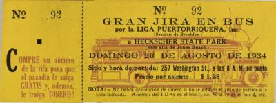 Liga Puertoriqueña ticket for Gran Jira En Bus