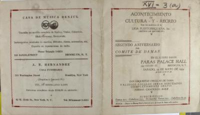 Segundo Aniversario de Comite de Damas / Second Anniversary of the Ladies' Committee