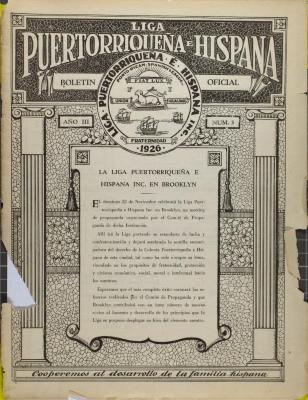 Liga Puertorriqueña E Hispana Oficial Boletin