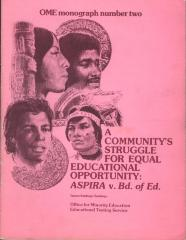A Community Struggle for Equal Educational Opportunity: ASPIRA v. Board of Education