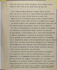 Copia Del Acta de la Reunión Celebrada Por El Ateneo Hispano Obrero de Nueva York / Copy of the Minutes of the Meeting Held by El Ateneo Hispano Obrero de Nueva York