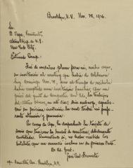 Correspondence from José Ant Frameta