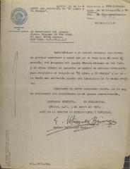 Correspondence from Rafael Heliodoro Valle