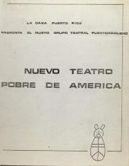 Nuevo Teatro Pobre de América / New Poor Theater of America