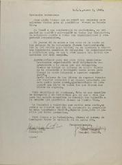 Correspondence from Jesús Colón and José Company