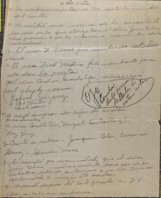 Jesús Colón business notes