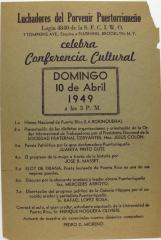 Luchadores del Porvenir Puertorriqueños Celebra Conferencia