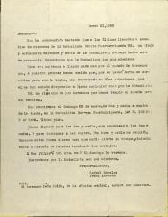 Correspondence from Rafael Morales and Frank Acevedo