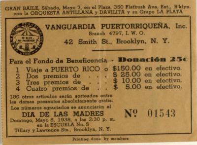 Vanguardia Puertorriqueña's Gran Baile