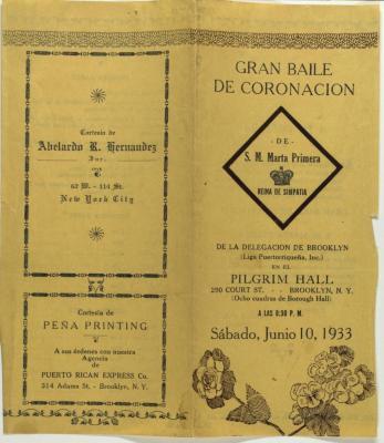 Gran Baile de Coronación / Great Coronation Dance