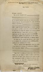 Form correspondence from Jesús Colón