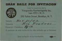 Gran Baile Por Invitacion / Great Dance By Invitation