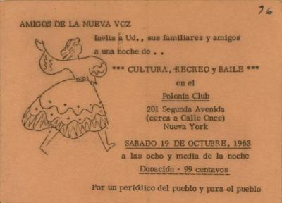 Cultura, Recreo, y Baile / Culture, Playtime, and Dance