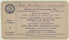 Gran Baile en honor a las Madres / Great Dance in Honor of Mothers