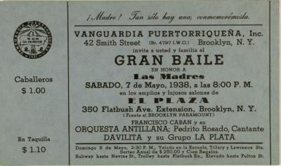 Gran Baile En Honor A Las Madres / Great Dance in Honor of Mothers