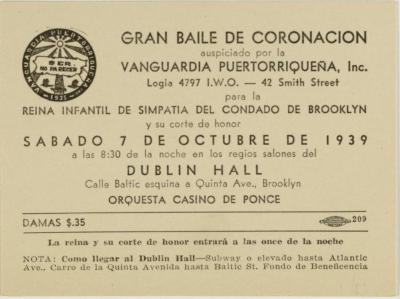 Gran Baile de Coronación / Great Coronation Dance