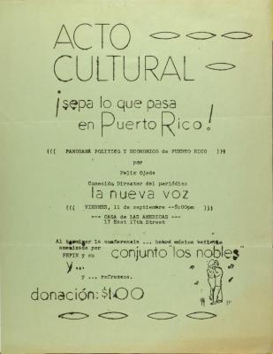 Sepa Lo Que Pasa en Puerto Rico! / Know What Happens in Puerto Rico!