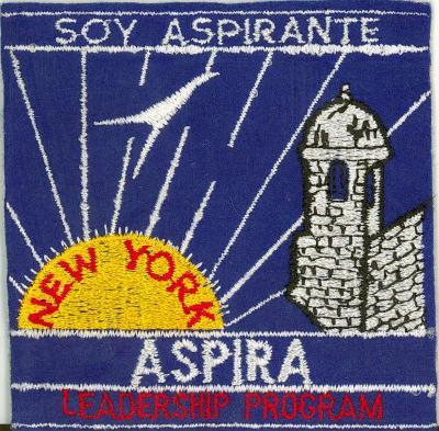 """""""Soy Aspirante"""" patch"""