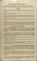 Plan De Trabajo Para El Segundo Medio Del 1936 / Work Plan for the Second Half of 1936