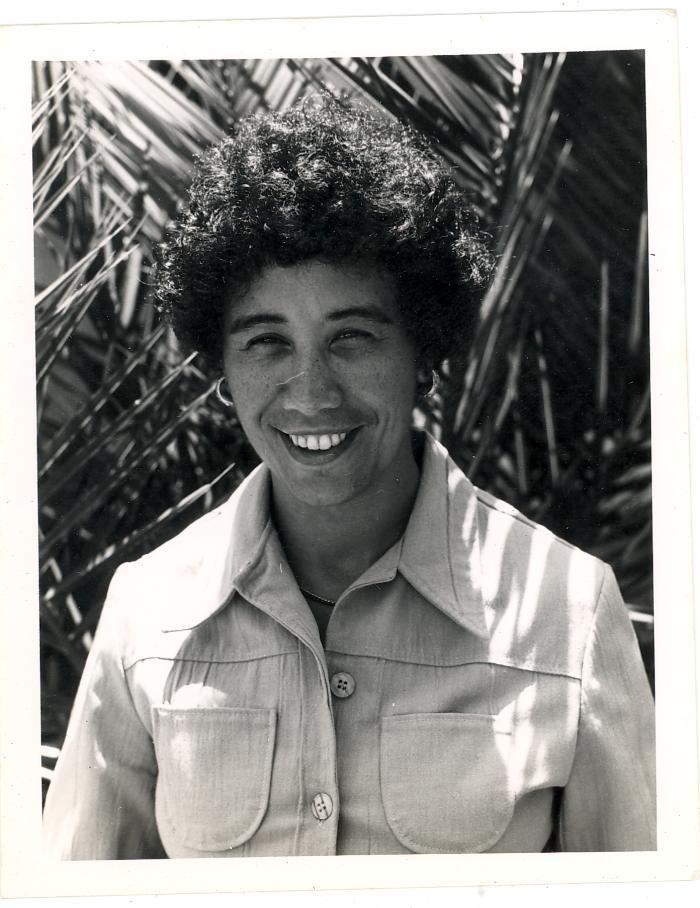Portrait of Wilhelmina Perry