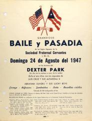 Grandioso Baile y Pasadía / Great Dance and Passage
