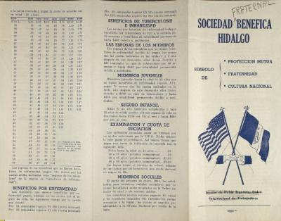 Sociedad Fraternal Benéfica Hidalgo