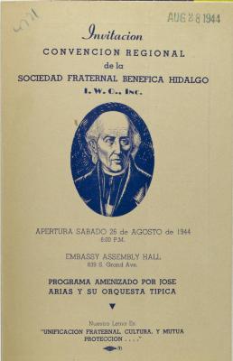 Convencion Regional de la Sociedad Fraternal Benéfica Hidalgo, I.W.O., Inc.