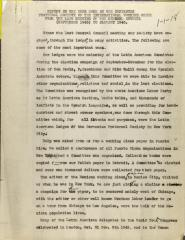 Report on the Work Done by the Cervantes Fraternal Society of the International Workers Order From the Last Meeting of the General Council (September 1945) to January 1946