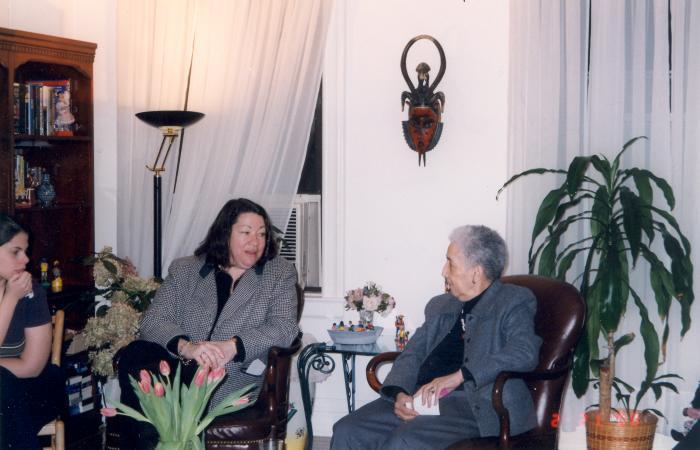 Antonia Pantoja and Sonia Sotomayor