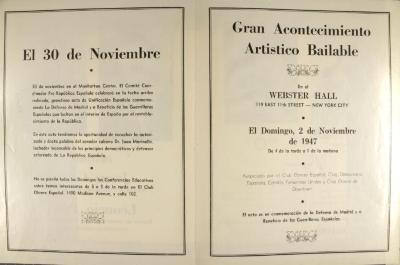 Gran Acontecimiento Artistico Bailable / Great Danceable Art Event