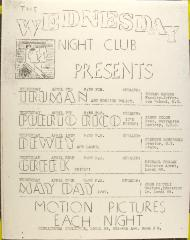 Wednesday Night Club Presents