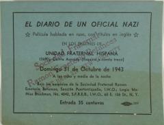 El Diario de un Oficial Nazi / The Diary of a Nazi Officer