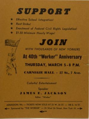 "40th ""Worker"" Anniversary"