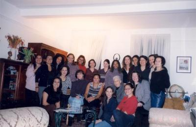 Accomplished young women meet with Antonia Pantoja and Sonia Sotomayor