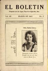 El Boletín / Bulletin
