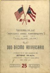 Aniversario Del Mutualista Obrera Puertorriqueña / Anniversary of the Mutualista Obrera Puertorriqueña