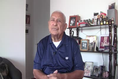 Interview with Henry Dominguez on March 22, 2014, Segment 3