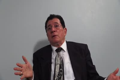 Interview with George J. Rios on September 4, 2013, Segment 6