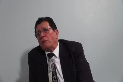 Interview with George J. Rios on September 4, 2013, Segment 5