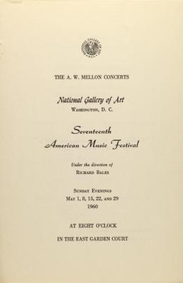 Seventeenth American Music Festival