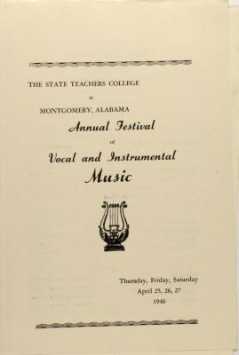 Annual Festival of Vocal and Instrumental Music