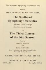 The Third Concert of the 26th Season