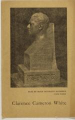 Bust of Clarence Cameron White