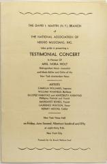 Testimonial Concert