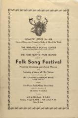 Folk Song Festival