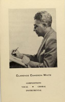 Clarence Cameron White - Compositions