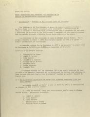 Grupo Organizador Del Proyecto Pro Creación de Un Archivo De Documentación Puertorriqueños /  Project Group Organizer of a Puerto Rican Documentation Archive