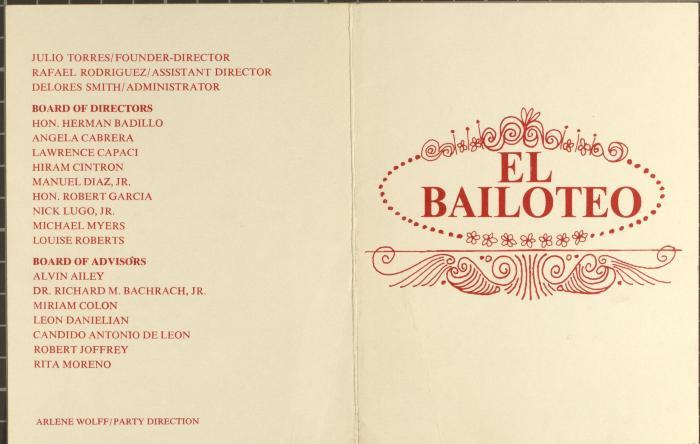 El Bailoteo / The Dancing