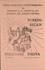 Folklore Fiesta flyer